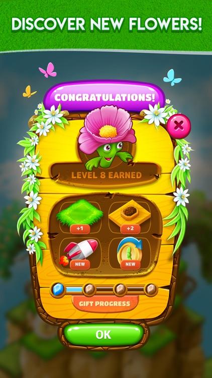Blooming Flowers: Merge Game screenshot-3