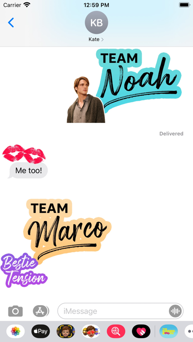 The Kissing Booth Stickers screenshot 5