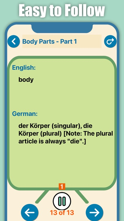 Quick and Easy German Lessons screenshot-5