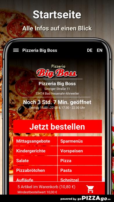 Pizzeria Big Boss Bad Neuenahr screenshot 2