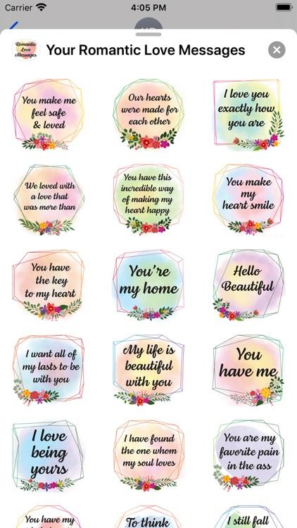 Your Romantic Love Messages screenshot-3