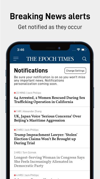 Epoch Times: Live & Breaking screenshot-5