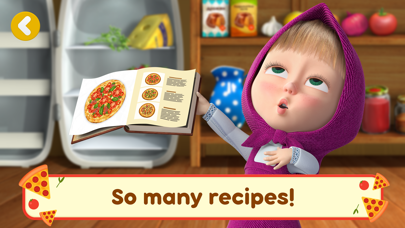 Screen Shot Masha and the Bear Pizzeria! 1