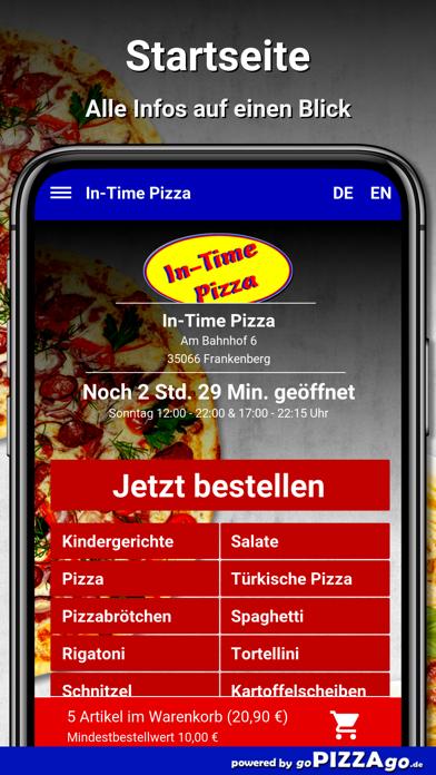 In-Time Pizza Frankenberg screenshot 3