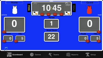 Ballers Basketball Scoreboard Screenshots
