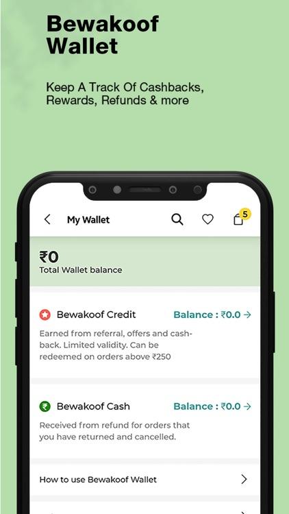 Bewakoof- Fashion Shopping App screenshot-9