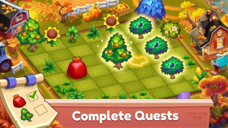 Mingle Farm – Magic Merge Game screenshot-3