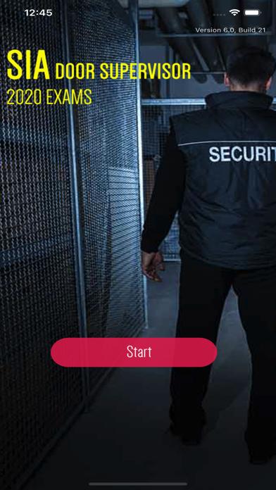 SIA Door Supervisor Licence screenshot 1
