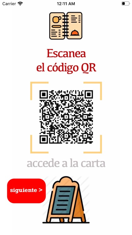 Restaurantes Carta QR screenshot-1