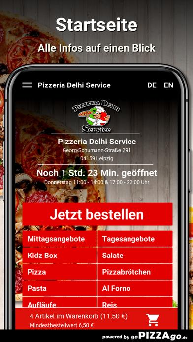 Pizzeria Delhi Service Leipzig screenshot 2