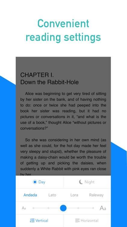 Ebook reader - Gutenberg screenshot-3