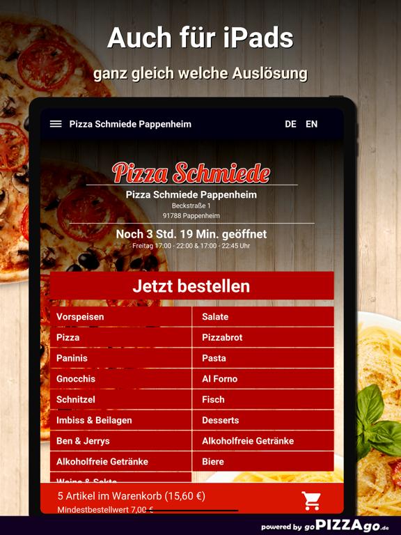 Pizza Schmiede Pappenheim screenshot 7