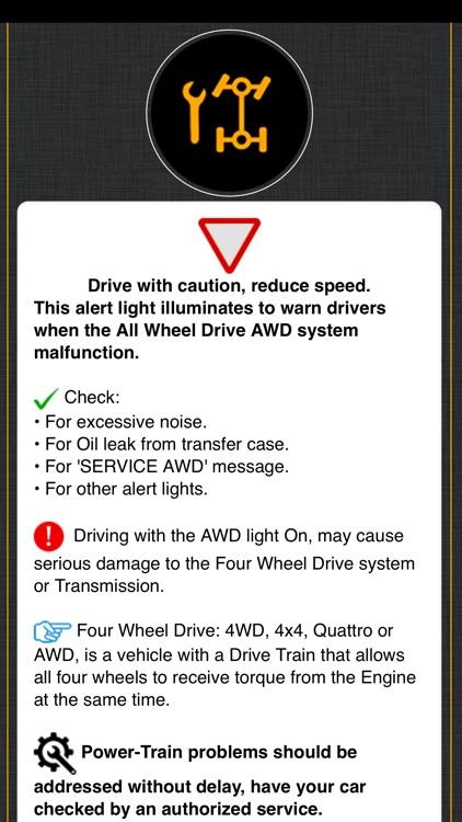 KIA Warning Lights Meaning screenshot-5