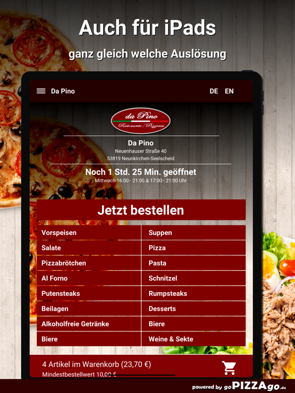Da Pino Neunkirchen-Seelscheid screenshot 7