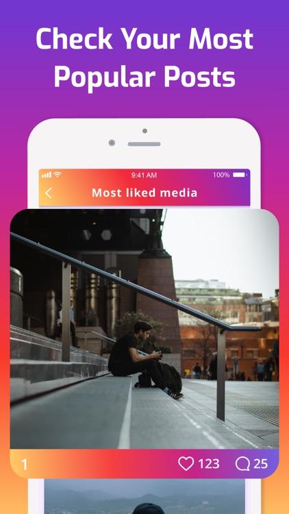 iMetric Analyzer for Instagram screenshot-5