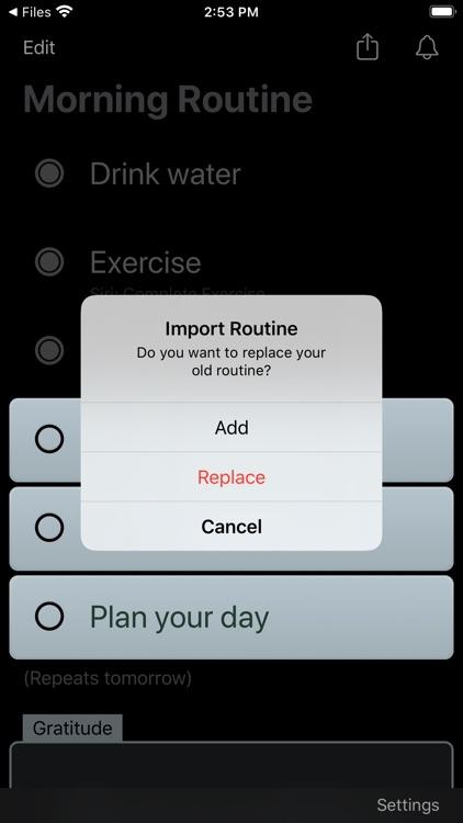 Morning Routine Checklist screenshot-5
