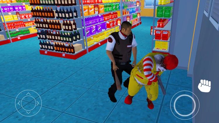 Scary Clown Thief Mall Robbery
