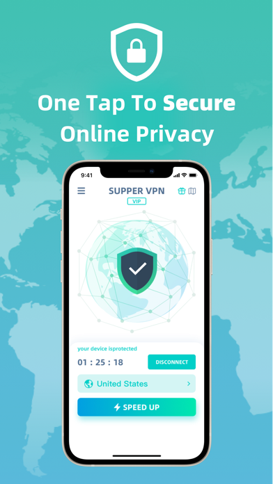 messages.download SuperVPN - Secure & Fast Proxy software