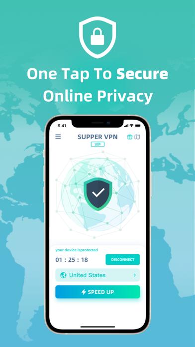 cancel SuperVPN - Secure & Fast Proxy app subscription image 1