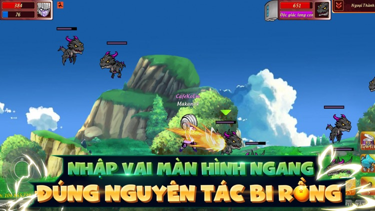 Gọi Rồng Online-Vũ Trụ Bi Rồng screenshot-3
