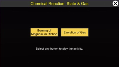 Chemical Reaction: State & Gas screenshot 1