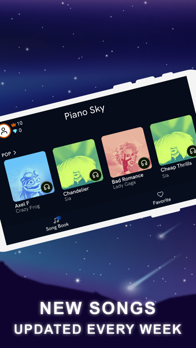 Piano Sky: Piano Magic Games screenshot 4