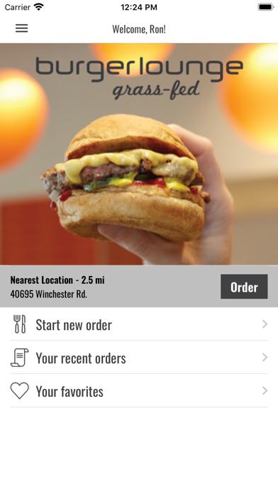 Burger LoungeScreenshot of 1