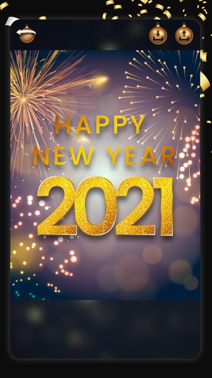 Happy New Year - Photo Frames screenshot-4