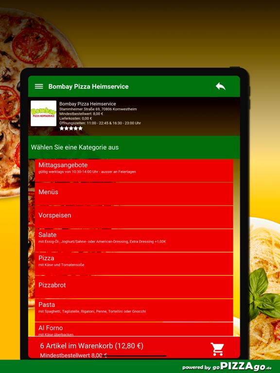 Bombay Pizza Kornwestheim screenshot 8