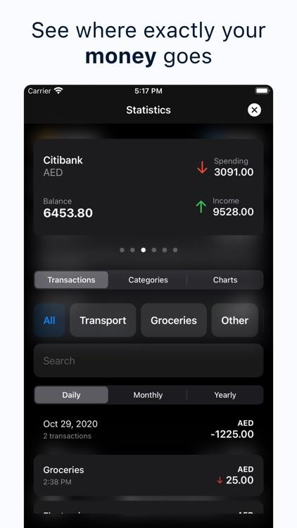 Spendy - Spendings reimagined screenshot-4