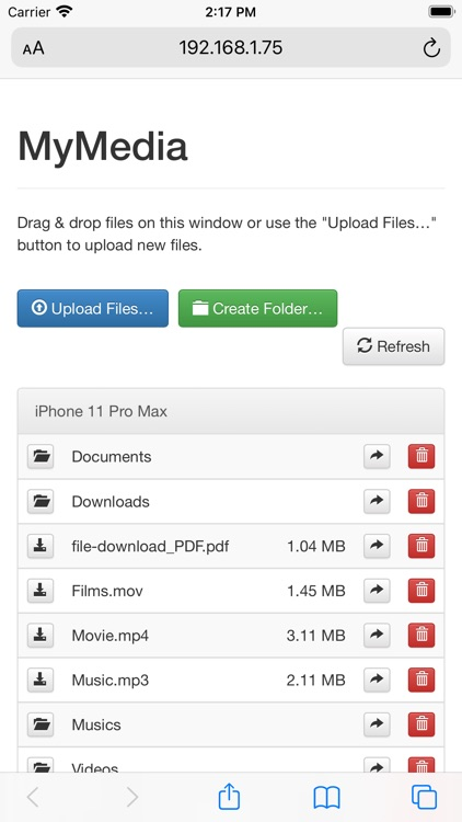 MyMedia: File Manager
