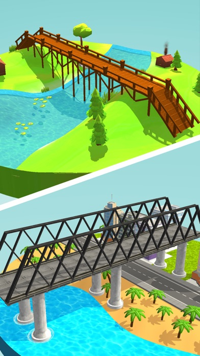 Idle Bridge Design screenshot 1