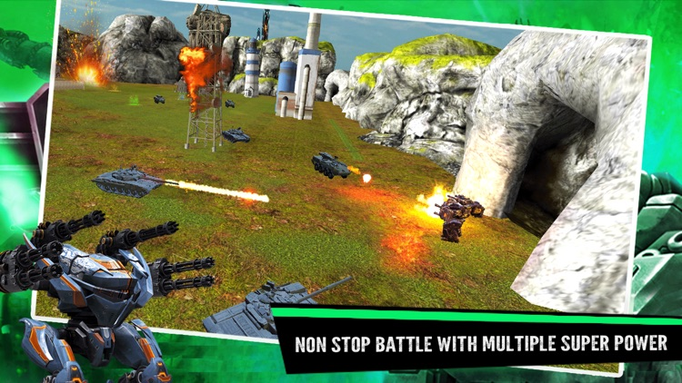 Robots War robot fighting game screenshot-4