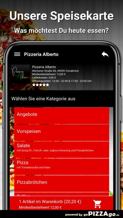 Pizzeria Alberto Osnabrück screenshot 5