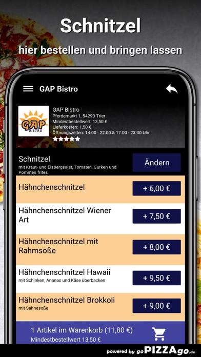 GAP Bistro Trier screenshot 6