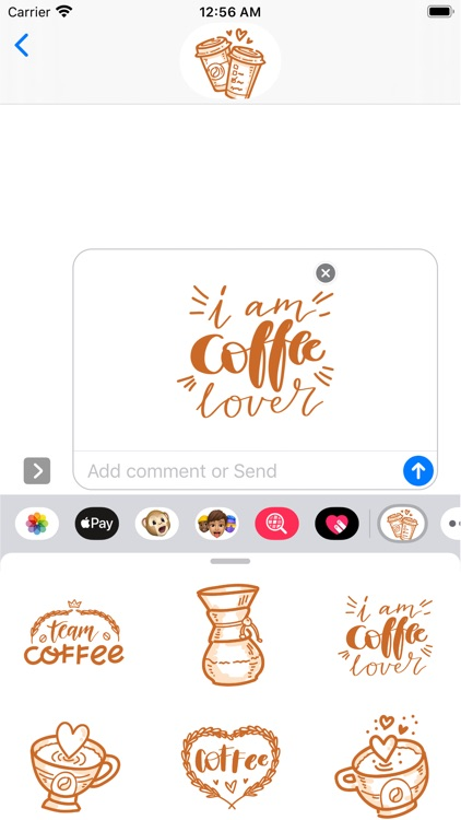 Coffee time! Stickers