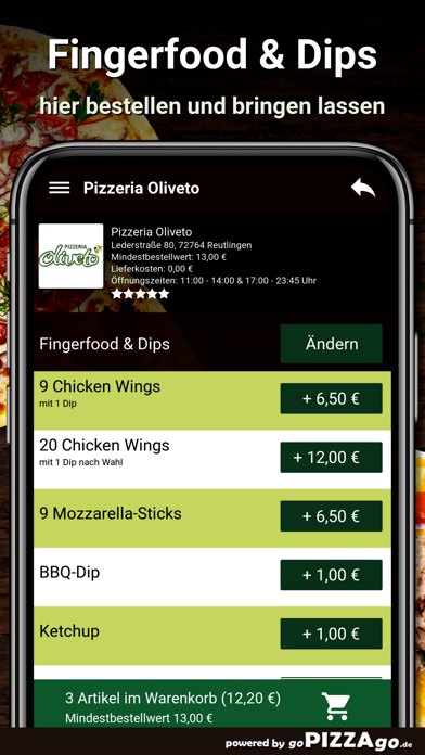 Pizzeria Oliveto Reutlingen screenshot 6