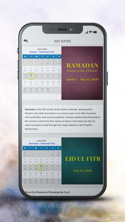 Ramadan Mubarak Greeting Card screenshot-3