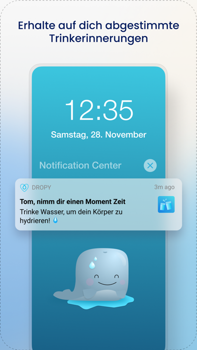messages.download Dropy - Wasser Trinkerinnerung software