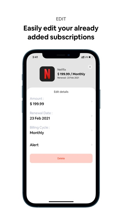 Dinero: Subscription Manager screenshot-6