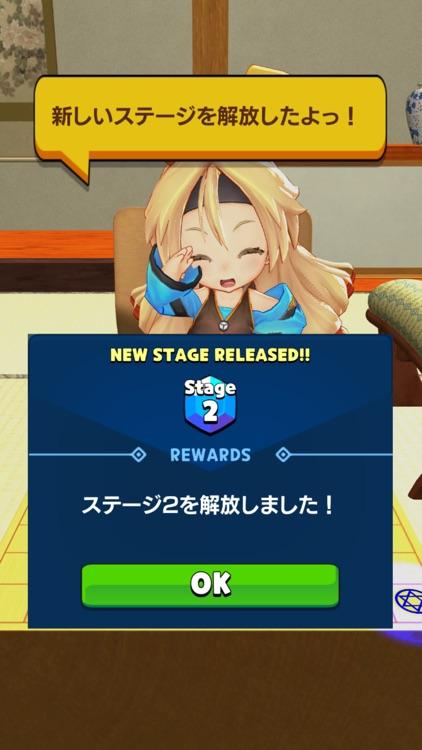 3D金ころがし(まわり将棋)with Unity-Chan! screenshot-9