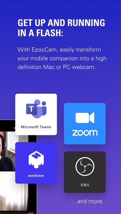 EpocCam Webcamera for Computer