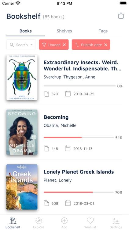 Bookshelf-Your virtual library