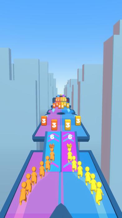 Crowd Snake Run screenshot 1