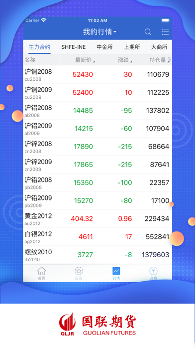 国联期宝-专业的掌上期货投资平台屏幕截图3