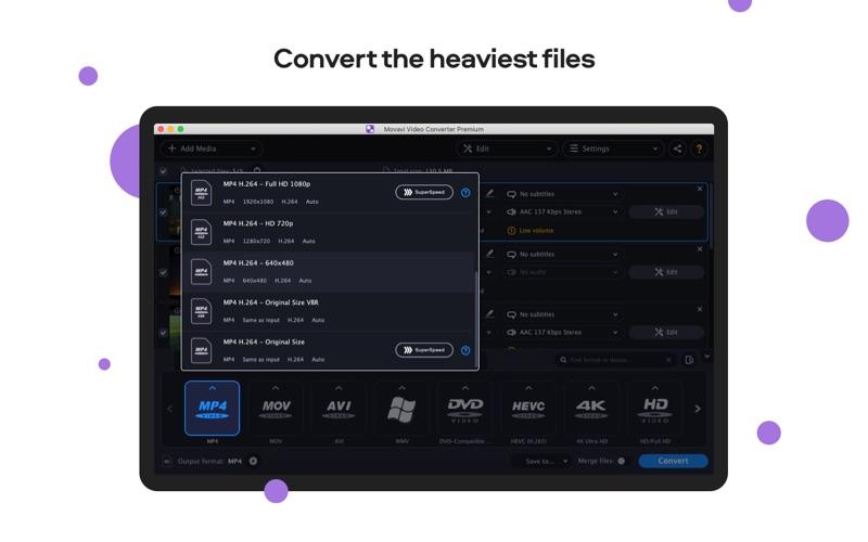 Movavi HD Video Converter Screenshots