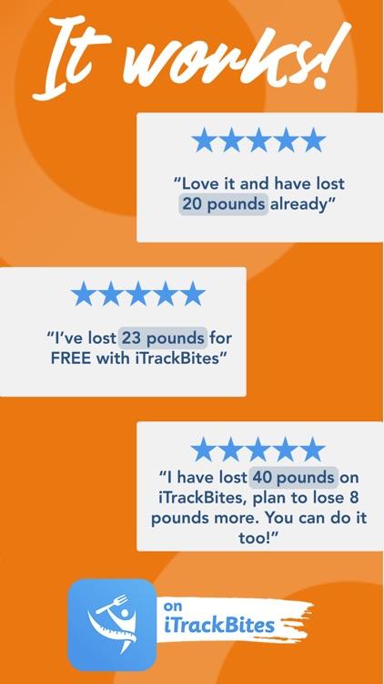 iTrackBites: Weight Loss Diet screenshot-6