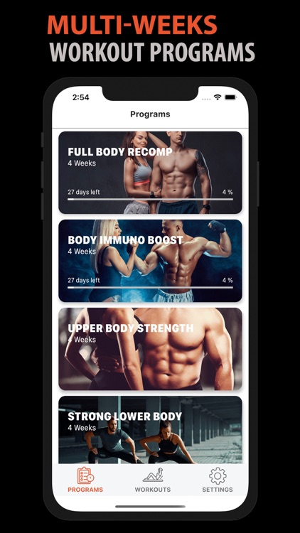 Home Workout for Men & Women screenshot-3