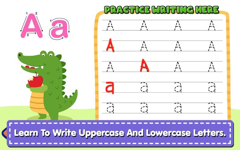 Alphabet Writing For Kids screenshot 1