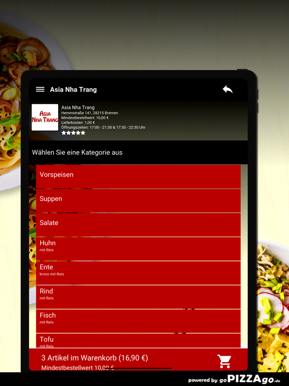 Asia Nha Trang Bremen screenshot 8